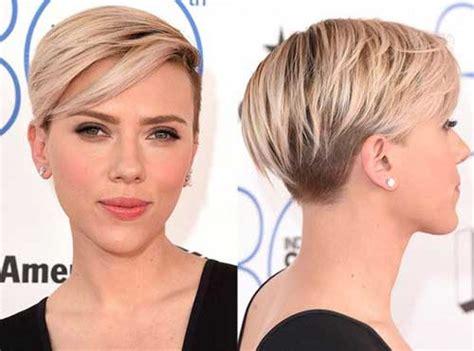 Pretty Ladies Trendy Short Hairstyles 2016