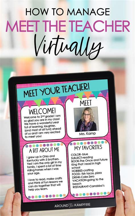 plan  virtual meet  teacher night
