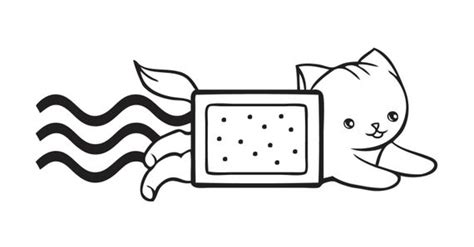 poptart  taco nyan cat decal sticker  stickedecals  etsy