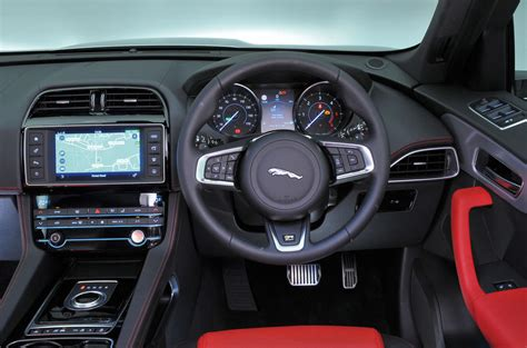jaguar  pace interior autocar