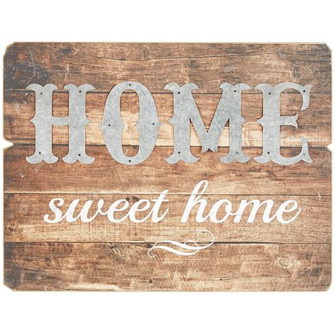 home sweet home decor home sweet home metal wood wall decor pier 1 imports