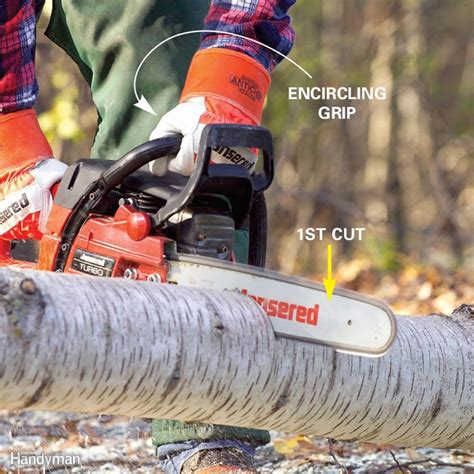chain tips saw chainsaw cutting injuries familyhandyman prevent circular guides sharpener saws guide essential sharpening handyman tools through blade burning