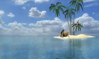 Free Island Desktop Wallpaper