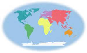 Kindergarten 7 Continents of the World