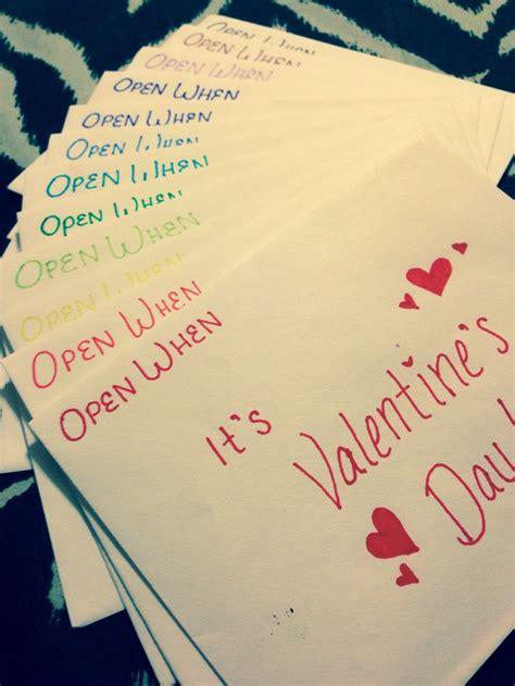 open when letters for your boyfriend open when letters for my boyfriend great diy gift for him 11836