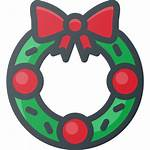 Christmas Wreath Icon Ornament Icons Iconfinder