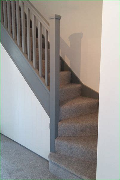 banister top oliver staircase single winder stairs with square