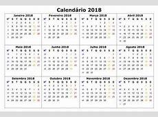 Veja os feriados e pontos facultativos em 2018 Zeca Soares