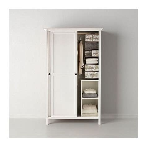 Ikea Schrank Kvikne by Hemnes Wardrobe With 2 Sliding Doors Black Brown In 2019