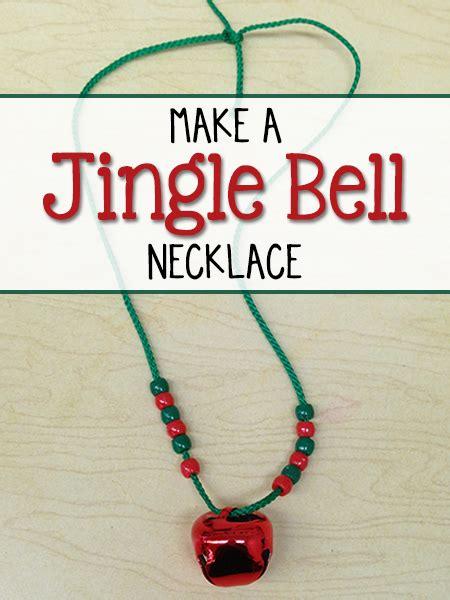 make a jingle bell necklace prekinders 539 | jingle bell christmas necklace2