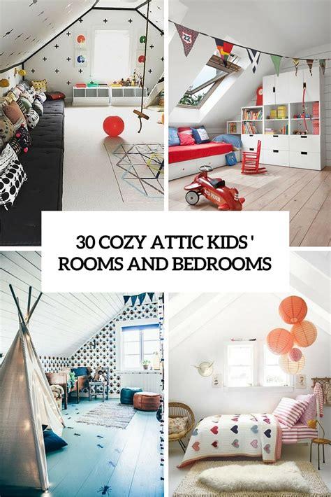 cozy attic kids rooms  bedrooms decor blog