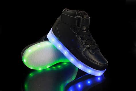 led light shoes for kid kids boys girls led light flashing sneakers usb charge