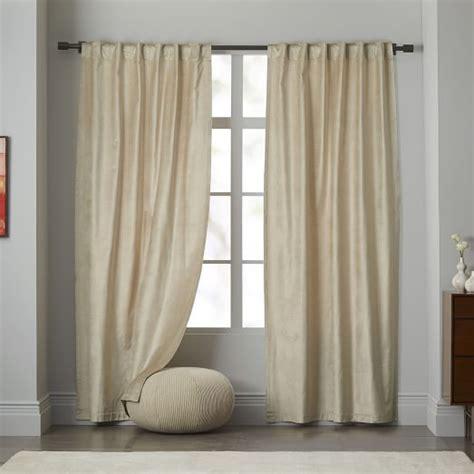 west elm velvet curtains 1000 ideas about velvet curtains on curtains