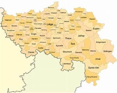 Liege Province Ses Communes Et Des Liste