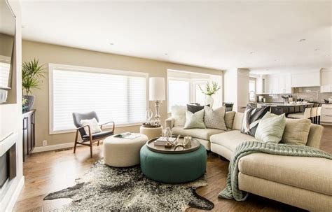 how to decorate an ottoman living room with round ottoman living room