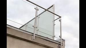 Garde Corp Terrasse : garde corps verre et terrasse ext rieure en vid o ~ Melissatoandfro.com Idées de Décoration