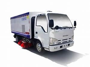 3 Ton Isuzu Sweeper Truck