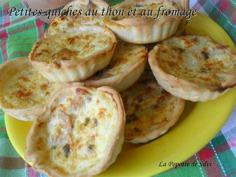petites quiches au thon et au fromage la popotte de silvi