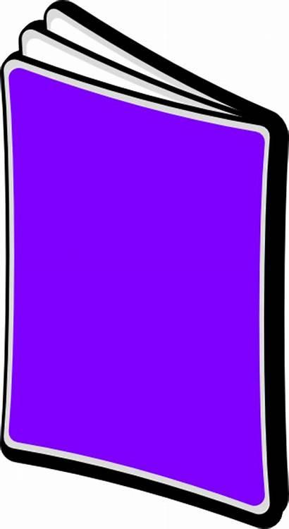 Clipart Magazine Clip Cliparts Purple Magazines Vector