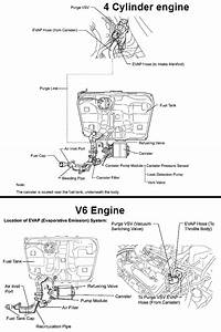 P0441 2007 Toyota Camry Evaporative Emission Control