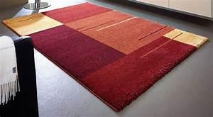 samoa design tapis patchwork bordeaux et orange 200x290 cm With tapis orange salon