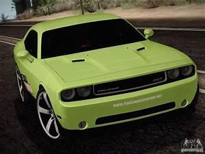 Dodge Challenger Srt8 : dodge challenger srt8 2010 for gta san andreas ~ Medecine-chirurgie-esthetiques.com Avis de Voitures