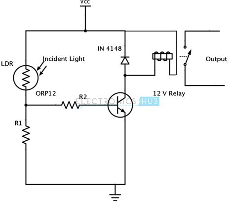 Light Sensing Using Ldr Photodiode Phototransistor