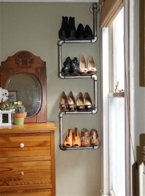 shoe rack ideas for small spaces 20 creative shoe storage ideas for small spaces house stuff pinterest creative industrial