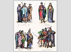 Middle Ages fashion history in Germany Costume History