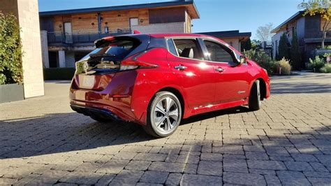 2018 Leaf Review by 2018 Nissan Leaf Review And Drive Autoguide News