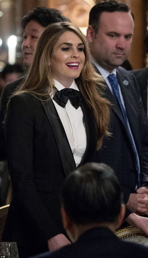 Hope Hicks Trump Tuxedo