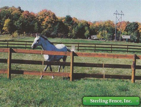 Build A Wooden Horse Fence Pictures To Pin On Pinterest