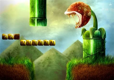 A Touch Of Realism For Mario Bros And Donkey Kong