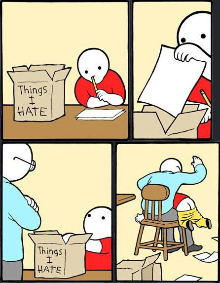 Meme Comic Template - template box of hate know your meme