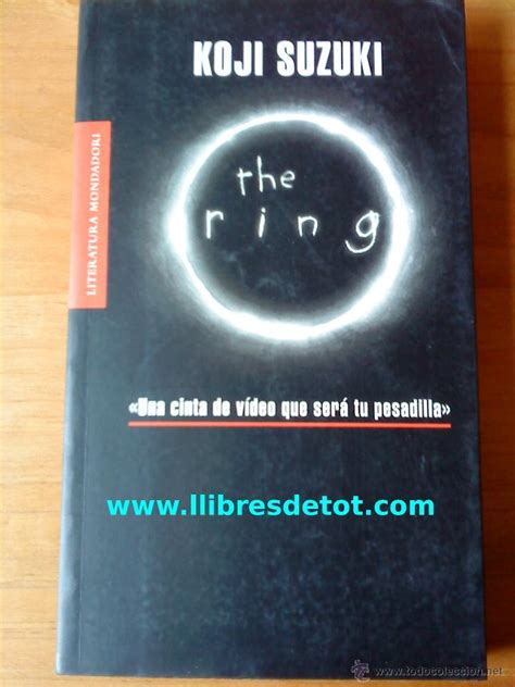 Ring Koji Suzuki by The Ring Koji Suzuki Vendido En Venta Directa 34866958