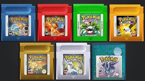 Pokemon Games By Vitalovitalo On Deviantart
