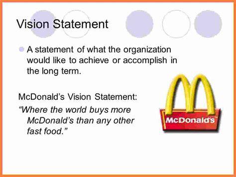 mcdonalds mission statement marital settlements