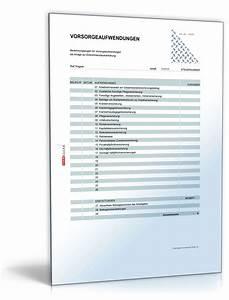 Einkommensteuer Berechnen Selbständig : rechentabelle werbungskosten vorsorgeaufwendungen muster zum download ~ Themetempest.com Abrechnung