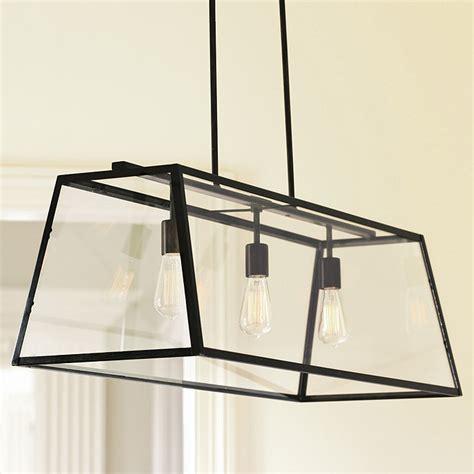 rectangular lantern chandelier eldridge rectangular pendant ballard designs