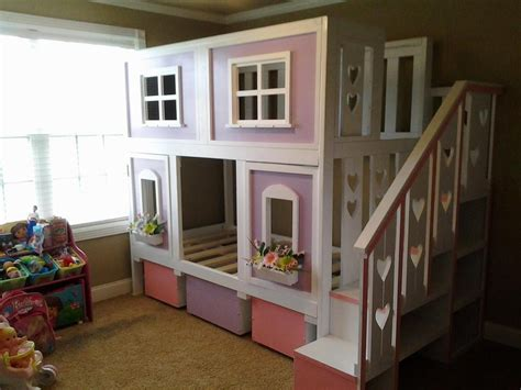 ana white sweet pea garden bunk bed diy projects
