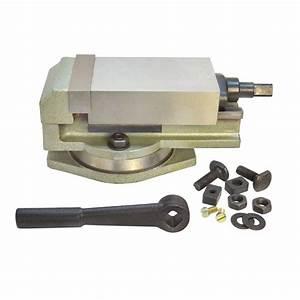 3 U0026 39  U0026 39  Precision Mill Vise W   Swivel Base Milling Drilling