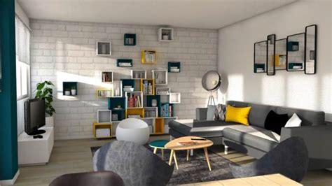 canapé coloré d archi déco aménager un séjour au style