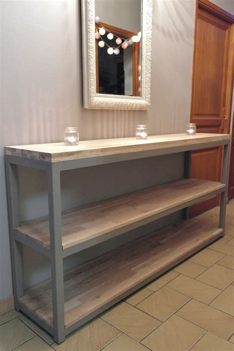 console cuisine meuble de rangement de cuisine cuisine en bois avec plein