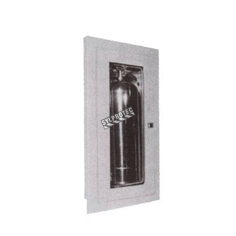 semi recessed extinguisher cabinet semi recessed cabinet for 2 5 gal 10 lbs 20 lbs