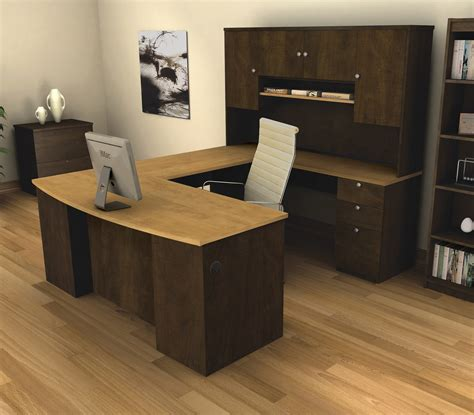 bestar u shaped desk bestar manhattan u shaped desk 81411 75