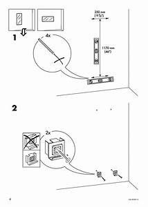 Ikea Minde Mirror Instructions