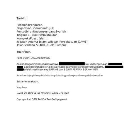 0 ratings0% found this document useful (0 votes). Contoh Surat Akuan Bujang Negeri Kedah - Kumpulan Contoh Surat dan Soal Terlengkap