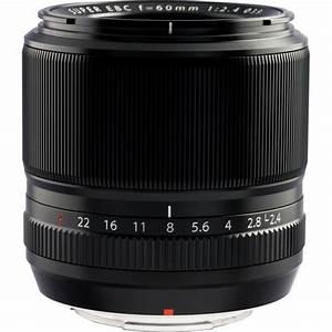 Fujifilm 60mm f/2.4 XF Macro Lens 16240767 B&H Photo Video