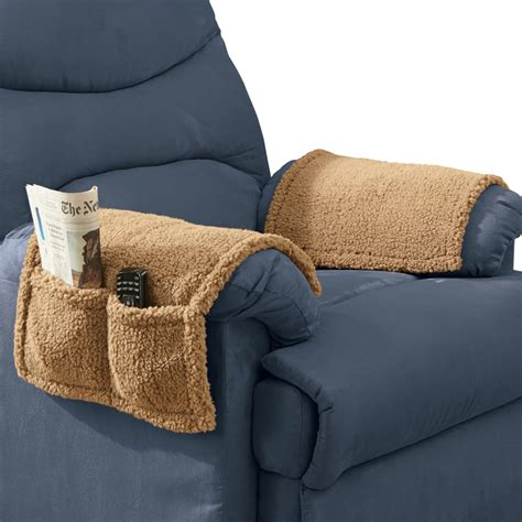 Armchair Protectors Covers by Armchair Covers With Pockets Set Of 2 By Collections Etc
