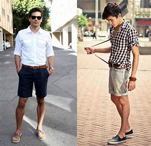 Homens devem usar shorts